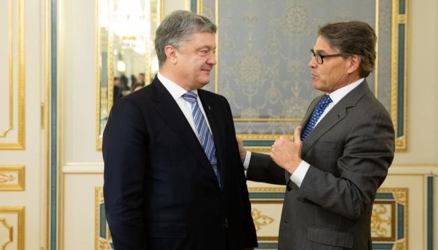 Порошенко и Перри договорились о Стратегическом энергетическом диалоге