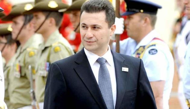 Подозреваемый в коррупции экс-премьер Македонии попросил убежища в Венгрии