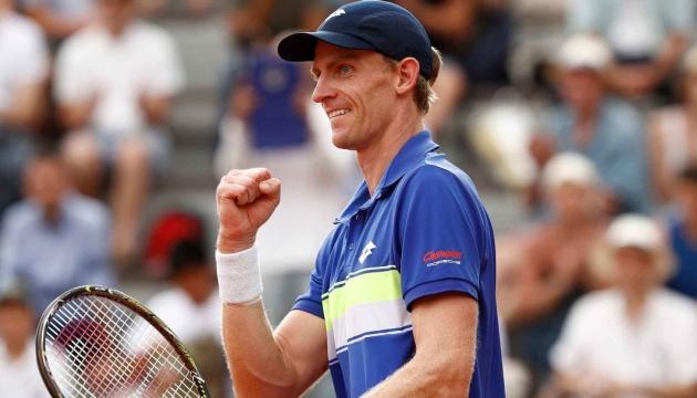 Южноафриканец Андерсон разгромил японца Нисикори в матче Итогового турнира ATP