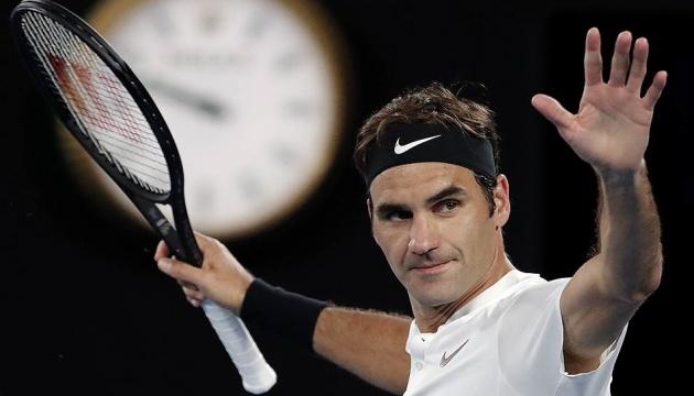 Швейцарец Федерер обыграл южноафриканца Андерсона в матче Итогового турнира ATP