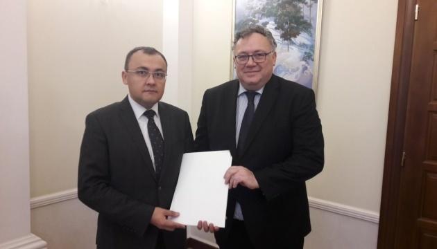 Neuer Botschafter Ungarns in der Ukraine tritt sein Amt an