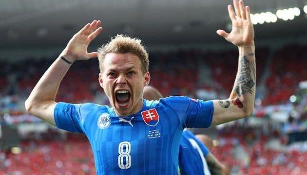Футболист сборной Словакии Дуда: Хотим вернуть должок Украине и Чехии