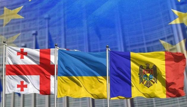 Ukraine, Moldawien und Georgien wollen gegen hybride Aggression Russlands gemeinsam vorgehen
