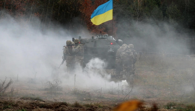 Militants launched 21 attacks on Ukrainian troops in Donbas in last day