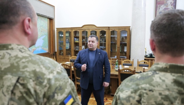 Полторак сказал, сколько военных и гражданских будет в МОУ после реформы