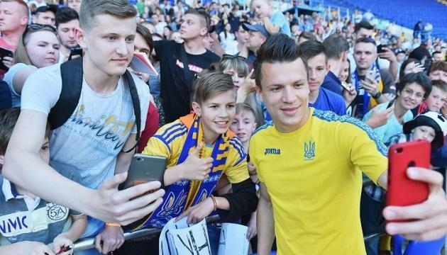 Коноплянка: У новичков хватает желания, чтобы проявить себя в сборной Украины