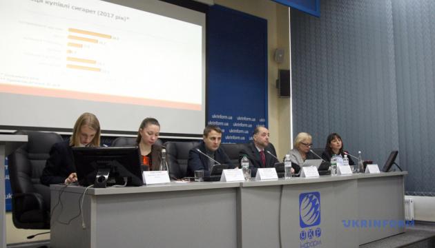 Почти каждый второй украинский подросток имеет опыт курения вейпов
