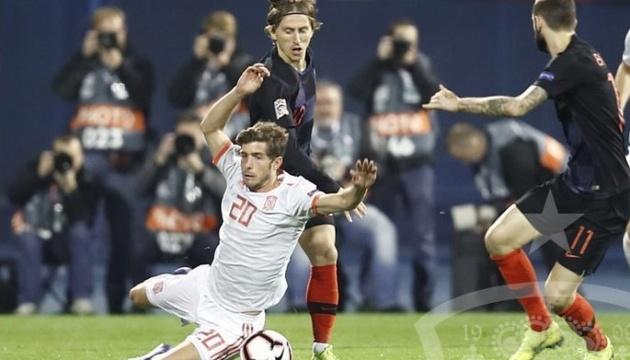 Хорватия обыграла Испанию в Лиге наций УЕФА: результаты игрового дня