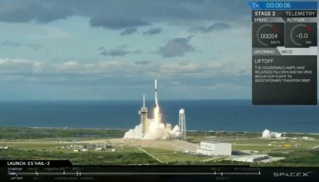 SpaceX відправила на орбіту катарський супутник