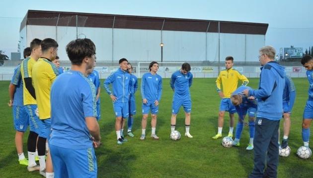Футбол: сборная Украины U-18 сыграет два матча с датчанами в Испании