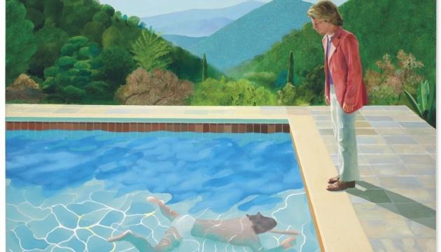 Картину британського художника Гокні продали на аукціоні за рекордні $90,3 мільйона