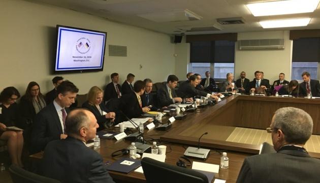 Комиссия стратегического партнерства Украина-США начала работу