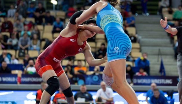 Украинки выиграли четыре медали на первенстве мира по спортивной борьбе