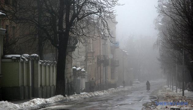 Зима уйдет из Украины с туманами и легким морозцем