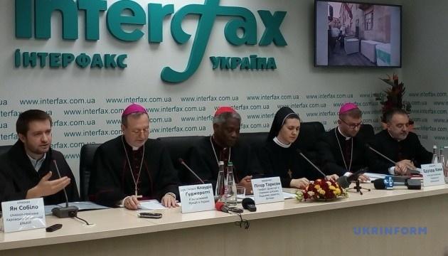 Папа Римский посетит Украину, когда его присутствие будет способствовать единству — нунций