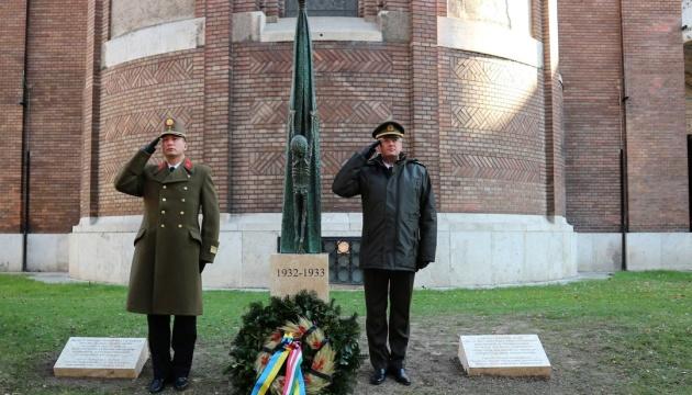 В угорському Сегеді відкрили пам'ятник жертвам Голодомору в Україні