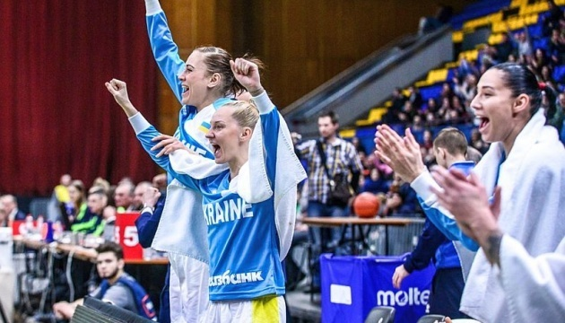 Женская сборная Украины по баскетболу обыграла Болгарию в отборе на Евро-2019