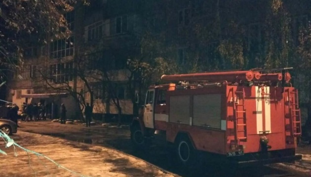 В Киеве во время пожара в квартире обнаружили погибшего — ГСЧС