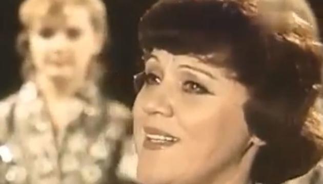 Скончалась известная украинская оперная певица