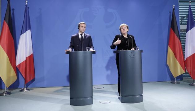 Меркель і Макрон радяться в Берліні про майбутнє Європи