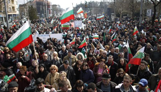 Болгарию охватили протесты против удорожания жизни