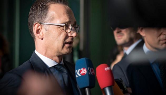 Керченская кризис не должен повториться - глава МИД Германии