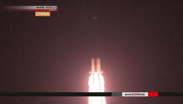 Китай показав іноземним журналістам запуск супутників системи