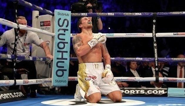 Усик піднявся на 4-е місце в рейтингу кращих боксерів світу - The Ring