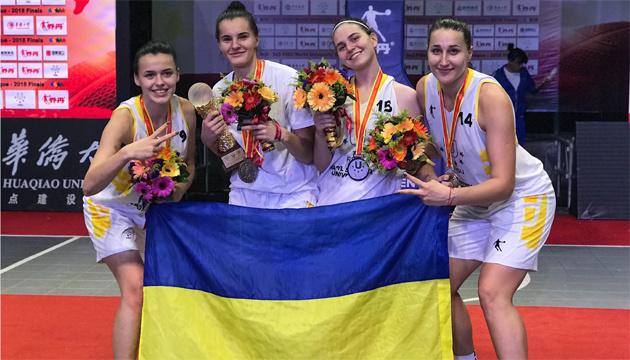 Баскетбол 3х3: збірна України виборола