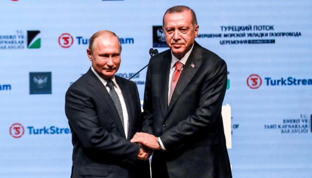 Ердоган наступного тижня поговорить з Путіним про Сирію