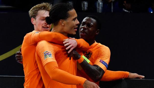 Збірна Голландії вийшла у фінальну стадію Ліги націй УЄФА