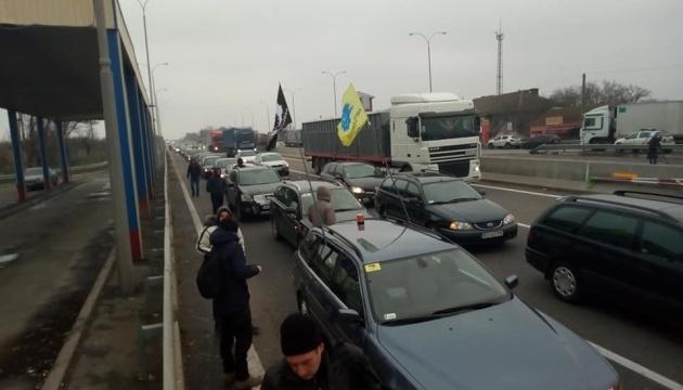 """""""Євробляхери"""" виїхали з протестами на дороги України"""