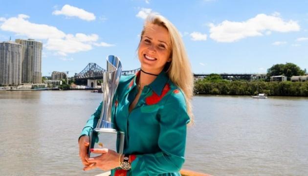 Теннис: Свитолина начнет новый сезон с защиты титула в Брисбене