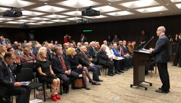 У канадському парламенті вшанували жертв Голодомору