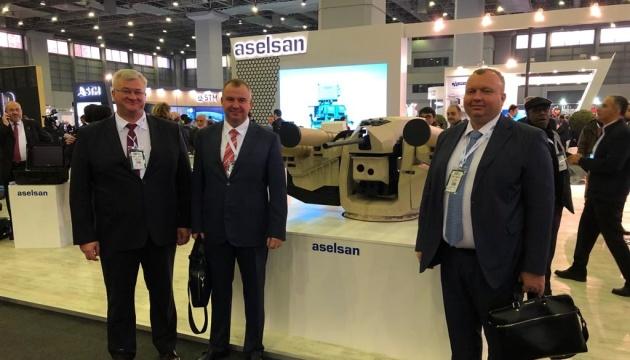 Украинская делегация поехала в Стамбул на выставку оборонных технологий