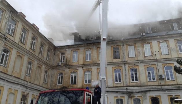 Пожежу у лікарні Львова загасили, винним загрожує до 10 років