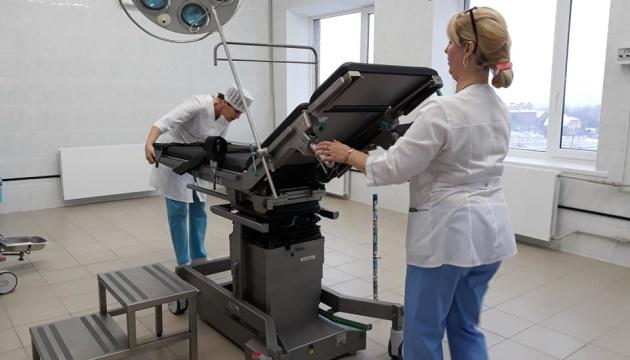 В Луганской областной детской больнице открыли обновленное отделение хирургии