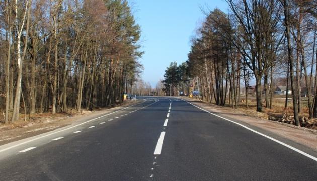 На Житомирщине после капремонта открыли движение по автодороге госзначения