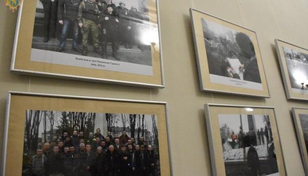До річниці Революції Гідності у Львові відкрили дві фотовиставки