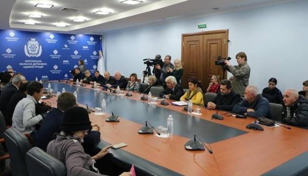 На Херсонщине создали первый в Украине Совет национального единства