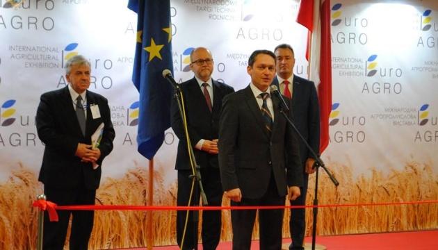 Во Львове стартовала III Международная агропромышленная выставка