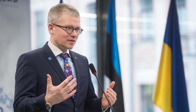 Эстонский министр обсудил в Киеве реформу местного самоуправления