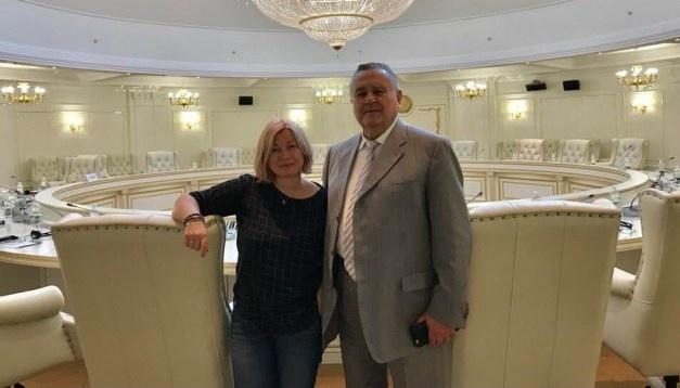 Iryna Herachtchenko dévoile les détails de la première réunion à Minsk avec Yevhen Martchuk