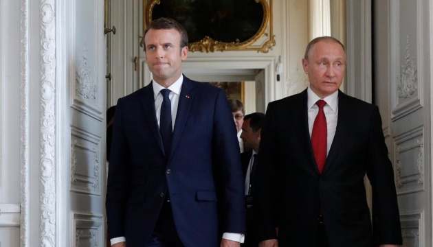 Putin and Macron to discuss situation in Ukraine