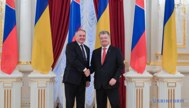 Мир должен противостоять попыткам оправдания Голодомора – президент Словакии