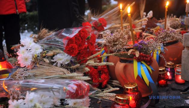 У Вінниці вшанували пам'ять жертв Голодомору мітингом-реквіємом