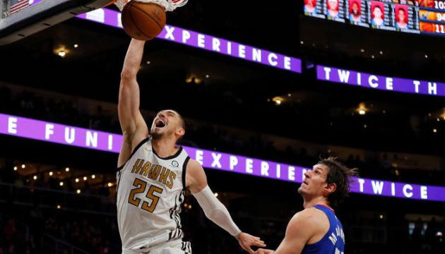 НБА: класна гра Леня не врятувала «Атланту» від поразки в матчі з «Бостоном»
