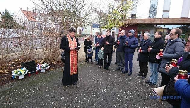 В Эльзасе почтили память жертв Голодомора в Украине
