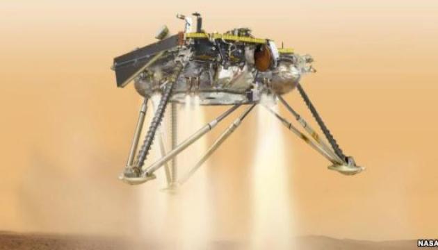 NASA транслюватиме наживо посадку свого зонда на Марсі