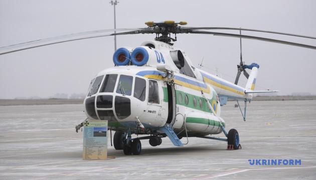 Аваков передал пограничникам модернизированные Ми-8